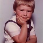 Der Blogger in jungen Jahren