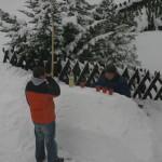 Junior hat ne Eisbar gebaut