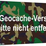 Geocache PETling Vorlage