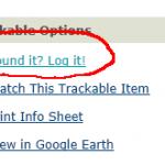 Trackable loggen