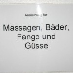 Massage wäre gut...