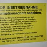 Zerkleinerungs- und Desinfektionsanlage