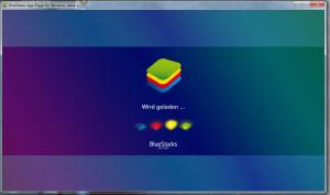 BlueStacks Startbildschirm