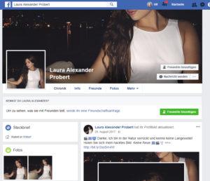 falschen facebook account melden